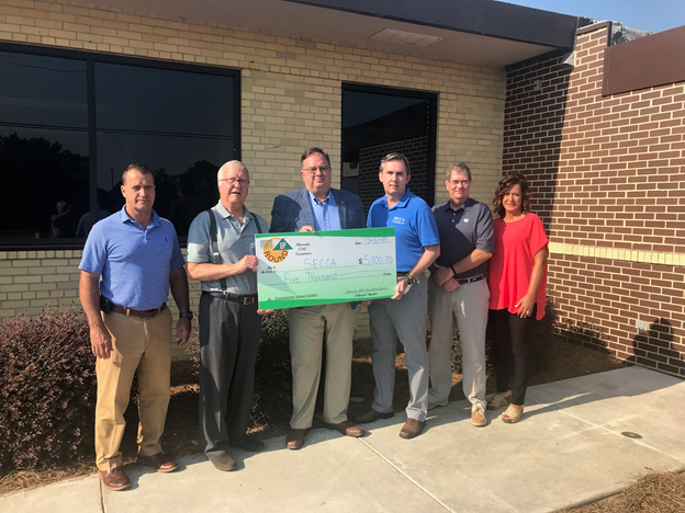 Altamaha EMC Donates to SECCA Energy Program
