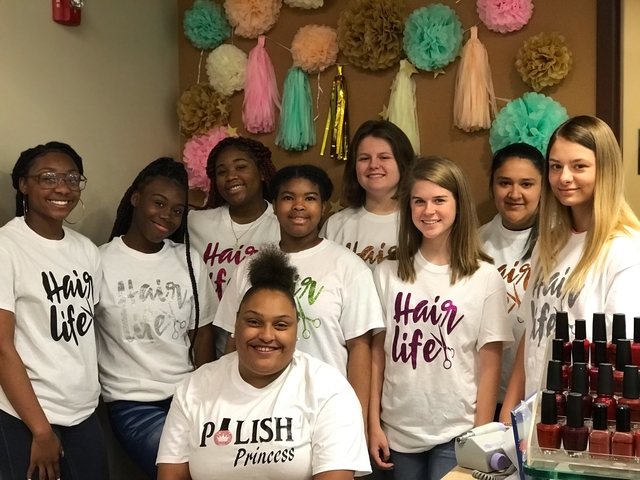 Cosmetology Students Complete PathwayAssessment