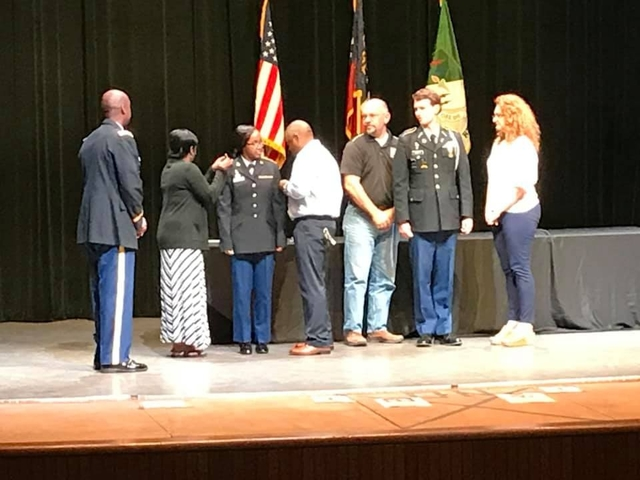 2019 Thunderbolts JROTC Awards and Change of Command Ceremony